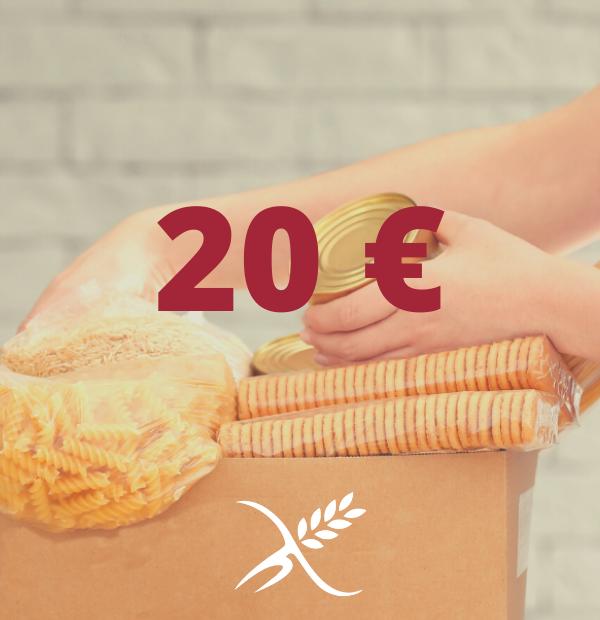 Donación 20 €